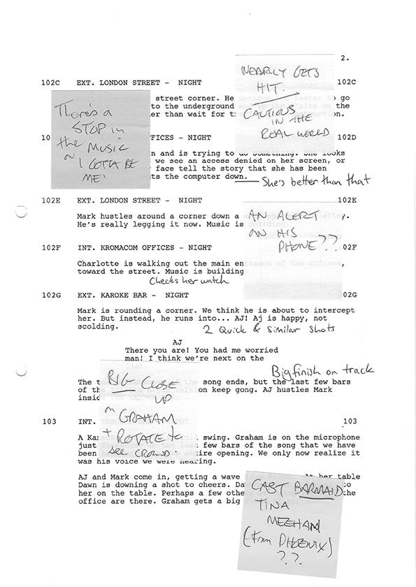 Inside Man S1 script scans 4